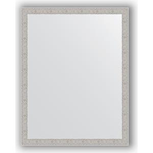 Зеркало в багетной раме поворотное Evoform Definite 71x91 см, волна алюминий 46 мм (BY 3262) зеркало в багетной раме поворотное evoform definite 73x93 см слоновая кость 51 мм by 1040
