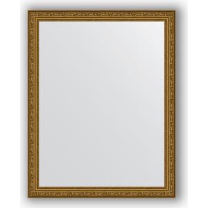 Зеркало в багетной раме поворотное Evoform Definite 74x94 см, виньетка состаренное золото 56 мм (BY 3263) evoform definite by 1018