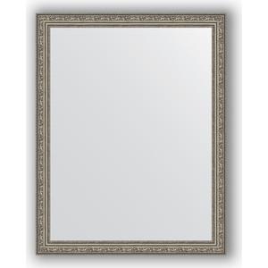 Зеркало в багетной раме поворотное Evoform Definite 74x94 см, виньетка состаренное серебро 56 мм (BY 3264)