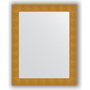 Зеркало в багетной раме поворотное Evoform Definite 80x100 см, чеканка золотая 90 мм (BY 3278)
