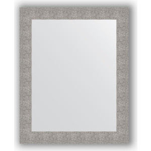 Зеркало в багетной раме поворотное Evoform Definite 80x100 см, чеканка серебряная 90 мм (BY 3279)
