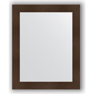 Зеркало в багетной раме поворотное Evoform Definite 80x100 см, бронзовая лава 90 мм (BY 3280)