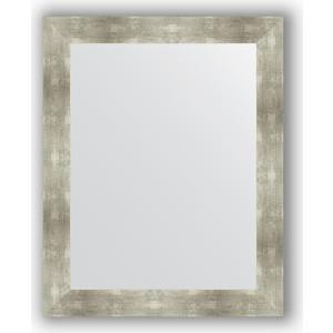 Зеркало в багетной раме поворотное Evoform Definite 80x100 см, алюминий 90 мм (BY 3282) зеркало в багетной раме поворотное evoform definite 80x100 см золотые дюны 90 мм by 3277