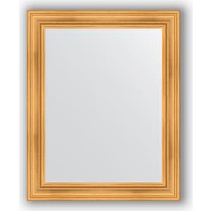 Зеркало в багетной раме поворотное Evoform Definite 82x102 см, травленое золото 99 мм (BY 3283)