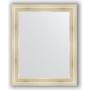 Зеркало в багетной раме поворотное Evoform Definite 82x102 см, травленое серебро 99 мм (BY 3284) зеркало в багетной раме поворотное evoform definite 54x74 см травленое серебро 59 мм by 0632
