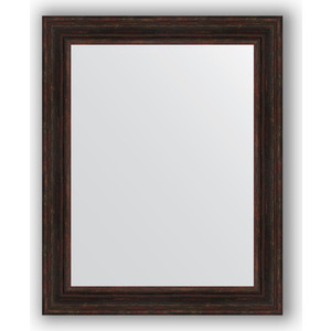 Зеркало в багетной раме поворотное Evoform Definite 82x102 см, темный прованс 99 мм (BY 3286) зеркало в багетной раме поворотное evoform definite 73x93 см слоновая кость 51 мм by 1040