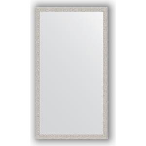 Зеркало в багетной раме поворотное Evoform Definite 71x131 см, мозаика хром 46 мм (BY 3292)