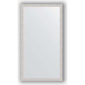 Зеркало в багетной раме поворотное Evoform Definite 71x131 см, серебрянный дождь 46 мм (BY 3293)