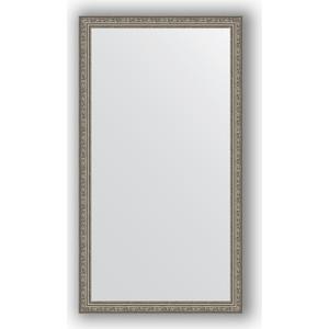 Зеркало в багетной раме поворотное Evoform Definite 74x134 см, виньетка состаренное серебро 56 мм (BY 3296)