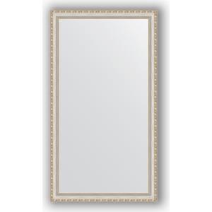 Зеркало в багетной раме поворотное Evoform Definite 75x135 см, версаль серебро 64 мм (BY 3302) масштабная модель 3302
