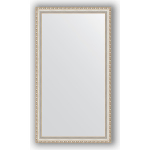 Зеркало в багетной раме поворотное Evoform Definite 75x135 см, версаль серебро 64 мм (BY 3302)