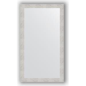 Зеркало в багетной раме поворотное Evoform Definite 76x136 см, серебреный дождь 70 мм (BY 3304)