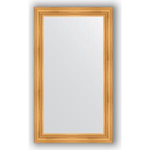Зеркало в багетной раме поворотное Evoform Definite 82x142 см, травленое золото 99 мм (BY 3315) зеркало в багетной раме поворотное evoform definite 82x142 см травленая бронза 99 мм by 3317