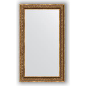 Зеркало в багетной раме поворотное Evoform Definite 83x143 см, вензель бронзовый 101 мм (BY 3319) зеркало в багетной раме поворотное evoform definite 73x93 см слоновая кость 51 мм by 1040