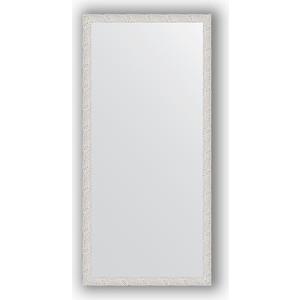 Зеркало в багетной раме поворотное Evoform Definite 71x151 см, чеканка белая 46 мм (BY 3322)