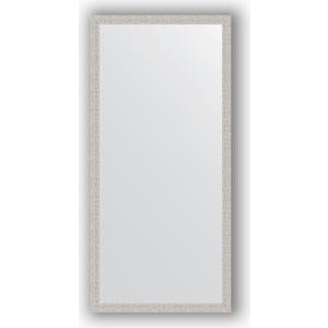 Зеркало в багетной раме поворотное Evoform Definite 71x151 см, мозаика хром 46 мм (BY 3324)