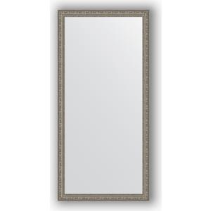 Зеркало в багетной раме поворотное Evoform Definite 74x154 см, виньетка состаренное серебро 56 мм (BY 3328) evoform definite by 1018