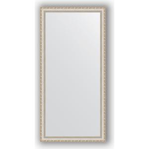 Зеркало в багетной раме поворотное Evoform Definite 75x155 см, версаль серебро 64 мм (BY 3334) зеркало в багетной раме поворотное evoform definite 75x135 см версаль серебро 64 мм by 3302