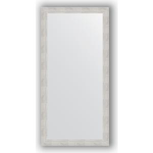 Зеркало в багетной раме поворотное Evoform Definite 76x156 см, серебреный дождь 70 мм (BY 3336)