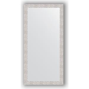 Зеркало в багетной раме поворотное Evoform Definite 76x156 см, соты алюминий 70 мм (BY 3339) фото