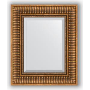 Зеркало с фацетом в багетной раме Evoform Exclusive 47x57 см, бронзовый акведук 93 мм (BY 3362) цена
