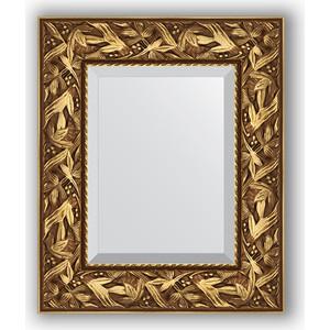 Зеркало с фацетом в багетной раме Evoform Exclusive 49x59 см, византия золото 99 мм (BY 3363)