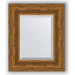 Зеркало с фацетом в багетной раме Evoform Exclusive 49x59 см, травленая бронза 99 мм (BY 3368) clatronic pw 3368