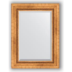 Зеркало с фацетом в багетной раме поворотное Evoform Exclusive 56x76 см, римское золото 88 мм (BY 3386) уорнер элла римское лето роман