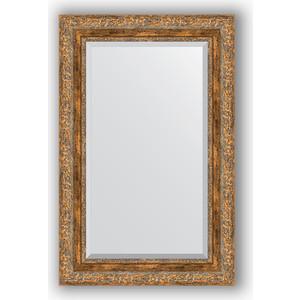 Зеркало с фацетом в багетной раме поворотное Evoform Exclusive 55x85 см, виньетка античная бронза 85 мм (BY 3410)