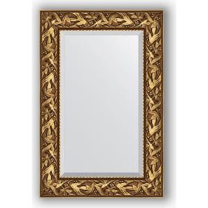 Зеркало с фацетом в багетной раме поворотное Evoform Exclusive 59x89 см, византия золото 99 мм (BY 3415) недорго, оригинальная цена