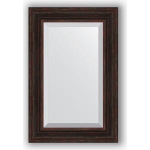Зеркало с фацетом в багетной раме поворотное Evoform Exclusive 59x89 см, темный прованс 99 мм (BY 3421)