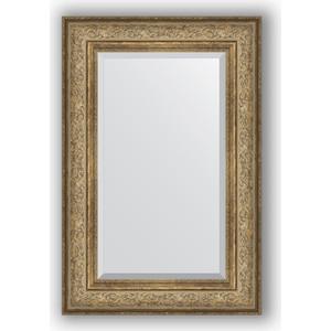 Зеркало с фацетом в багетной раме поворотное Evoform Exclusive 60x90 см, виньетка античная бронза 109 мм (BY 3425) зеркало с фацетом в багетной раме поворотное evoform exclusive 80x170 см виньетка серебро 109 мм by 3608