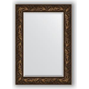 цена на Зеркало с фацетом в багетной раме поворотное Evoform Exclusive 69x99 см, византия бронза 99 мм (BY 3443)