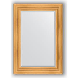 Зеркало с фацетом в багетной раме поворотное Evoform Exclusive 69x99 см, травленое золото 99 мм (BY 3444) зеркало с фацетом в багетной раме поворотное evoform exclusive 59x119 см травленое золото 99 мм by 3496