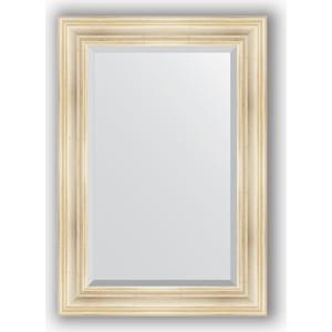 Зеркало с фацетом в багетной раме поворотное Evoform Exclusive 69x99 см, травленое серебро 99 мм (BY 3445) фото