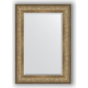 цена на Зеркало с фацетом в багетной раме поворотное Evoform Exclusive 70x100 см, виньетка античная бронза 109 мм (BY 3451)