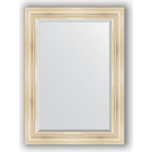 Зеркало с фацетом в багетной раме поворотное Evoform Exclusive 79x109 см, травленое серебро 99 мм (BY 3471)