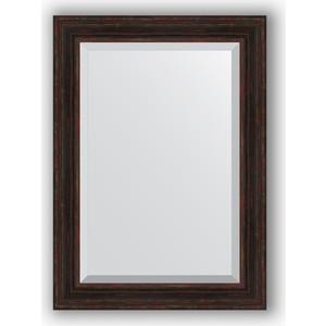 Зеркало с фацетом в багетной раме поворотное Evoform Exclusive 79x109 см, темный прованс 99 мм (BY 3473)