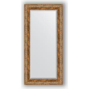 Зеркало с фацетом в багетной раме поворотное Evoform Exclusive 55x115 см, виньетка античная бронза 85 мм (BY 3488) зеркало evoform exclusive g 185х130 виньетка античная латунь