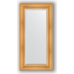 Зеркало с фацетом в багетной раме поворотное Evoform Exclusive 59x119 см, травленое золото 99 мм (BY 3496) зеркало с фацетом в багетной раме поворотное evoform exclusive 59x119 см травленое золото 99 мм by 3496