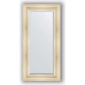 Зеркало с фацетом в багетной раме поворотное Evoform Exclusive 59x119 см, травленое серебро 99 мм (BY 3497) зеркало с фацетом в багетной раме поворотное evoform exclusive 59x119 см травленое золото 99 мм by 3496