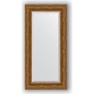 Зеркало с фацетом в багетной раме поворотное Evoform Exclusive 59x119 см, травленая бронза 99 мм (BY 3498)