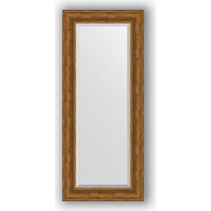 Зеркало с фацетом в багетной раме поворотное Evoform Exclusive 59x139 см, травленая бронза 99 мм (BY 3524)