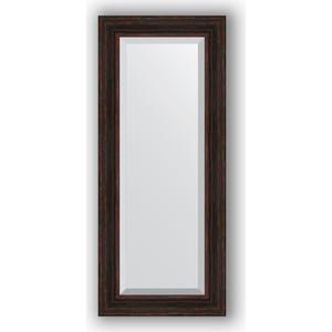 Зеркало с фацетом в багетной раме поворотное Evoform Exclusive 59x139 см, темный прованс 99 мм (BY 3525)