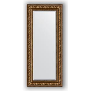 Зеркало с фацетом в багетной раме поворотное Evoform Exclusive 60x140 см, виньетка состаренная бронза 109 мм (BY 3531) зеркало с фацетом в багетной раме поворотное evoform exclusive 80x170 см виньетка серебро 109 мм by 3608