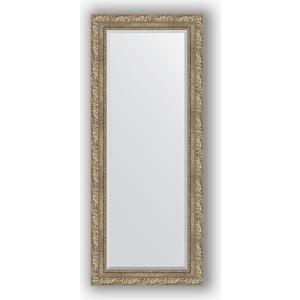 Зеркало с фацетом в багетной раме поворотное Evoform Exclusive 60x145 см, виньетка античное серебро 85 мм (BY 3539)