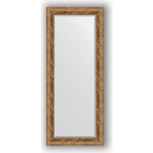 Зеркало с фацетом в багетной раме поворотное Evoform Exclusive 60x145 см, виньетка античная бронза 85 мм (BY 3540)