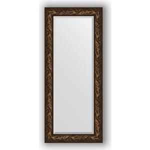 цена на Зеркало с фацетом в багетной раме поворотное Evoform Exclusive 64x149 см, византия бронза 99 мм (BY 3547)