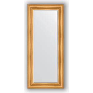 Зеркало с фацетом в багетной раме поворотное Evoform Exclusive 64x149 см, травленое золото 99 мм (BY 3548) зеркало с фацетом в багетной раме поворотное evoform exclusive 59x119 см травленое золото 99 мм by 3496