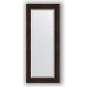 Зеркало с фацетом в багетной раме поворотное Evoform Exclusive 64x149 см, темный прованс 99 мм (BY 3551)